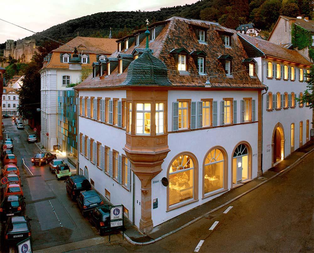 Der Ort Zum Verweilen Arthotel Heidelberg